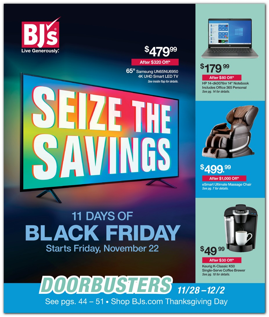 BJs Black Friday 2019 Ad