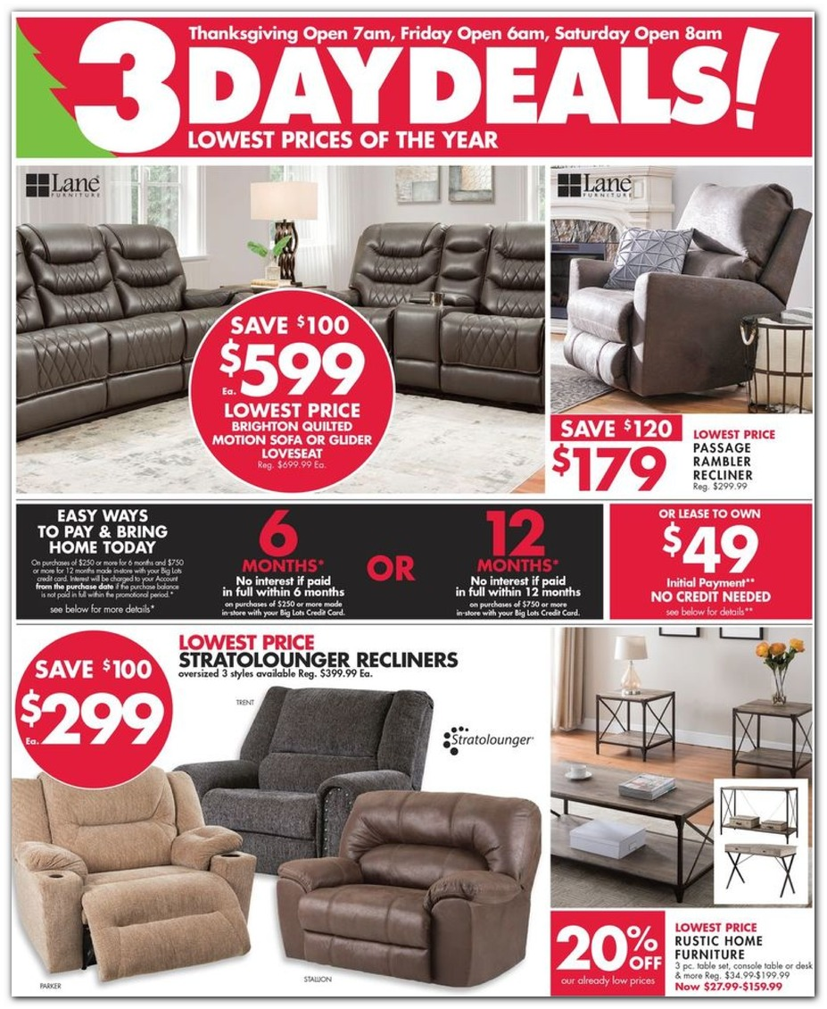 Big Lots Black Friday 2019 Ad