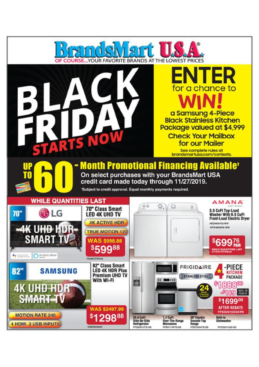 Brandsmart USA Black Friday 2019 Ad