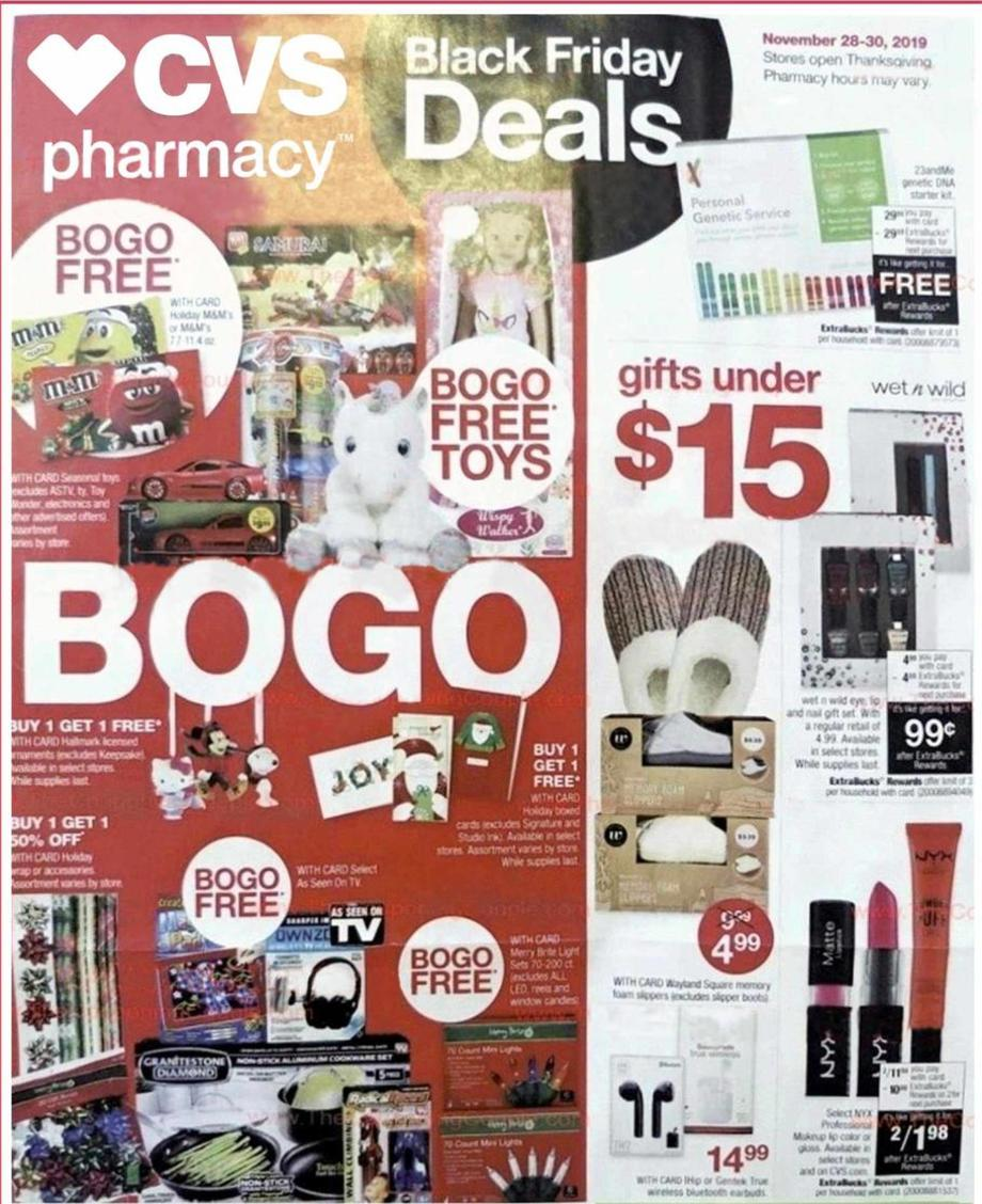 CVS Black Friday 2019 Ad