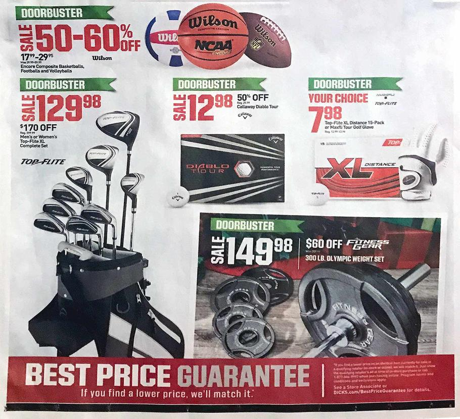 Dicks Sporting Goods Black Friday 2019 Ad