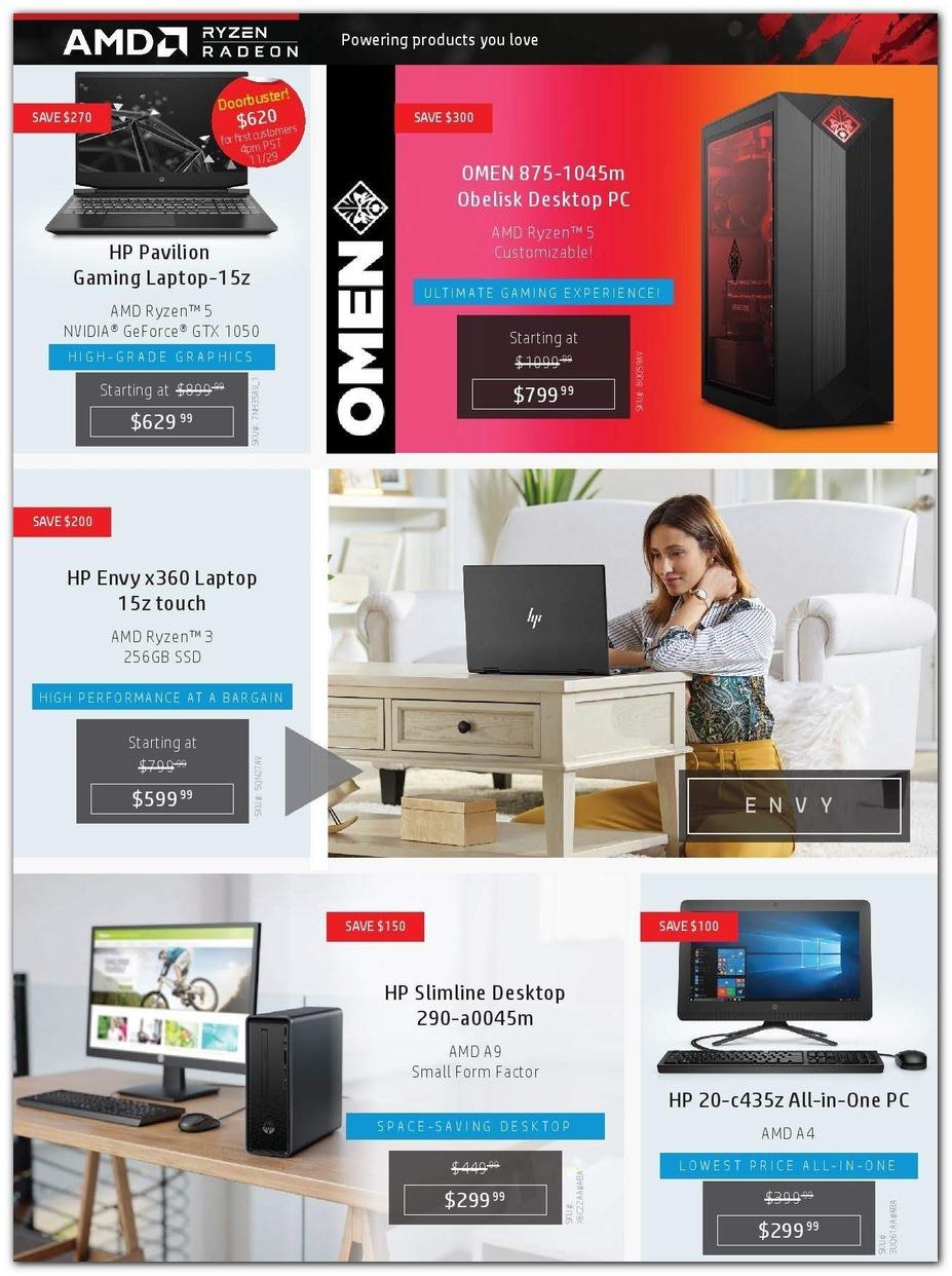 HP Black Friday 2019 Ad