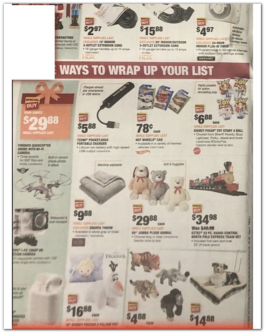 Home Depot Black Friday 2019 Ad