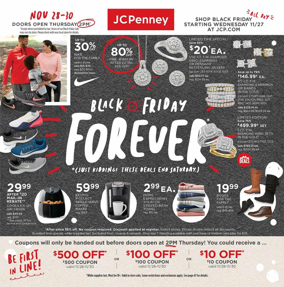 JC Penney Black Friday 2019 Ad