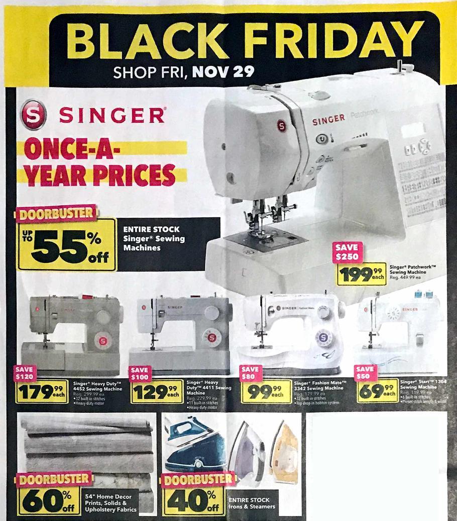 Jo Ann Black Friday 2019 Ad