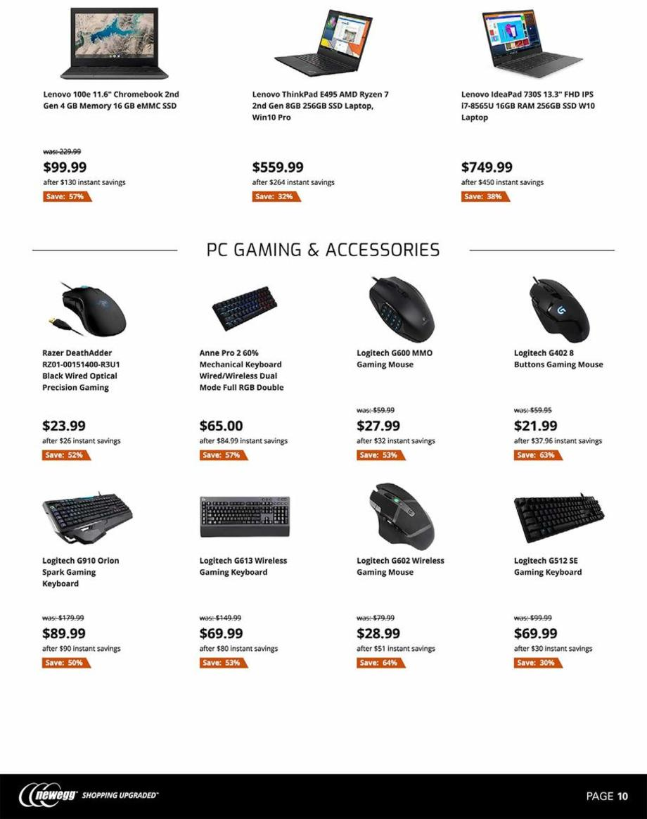 Newegg Black Friday 2019 Ad