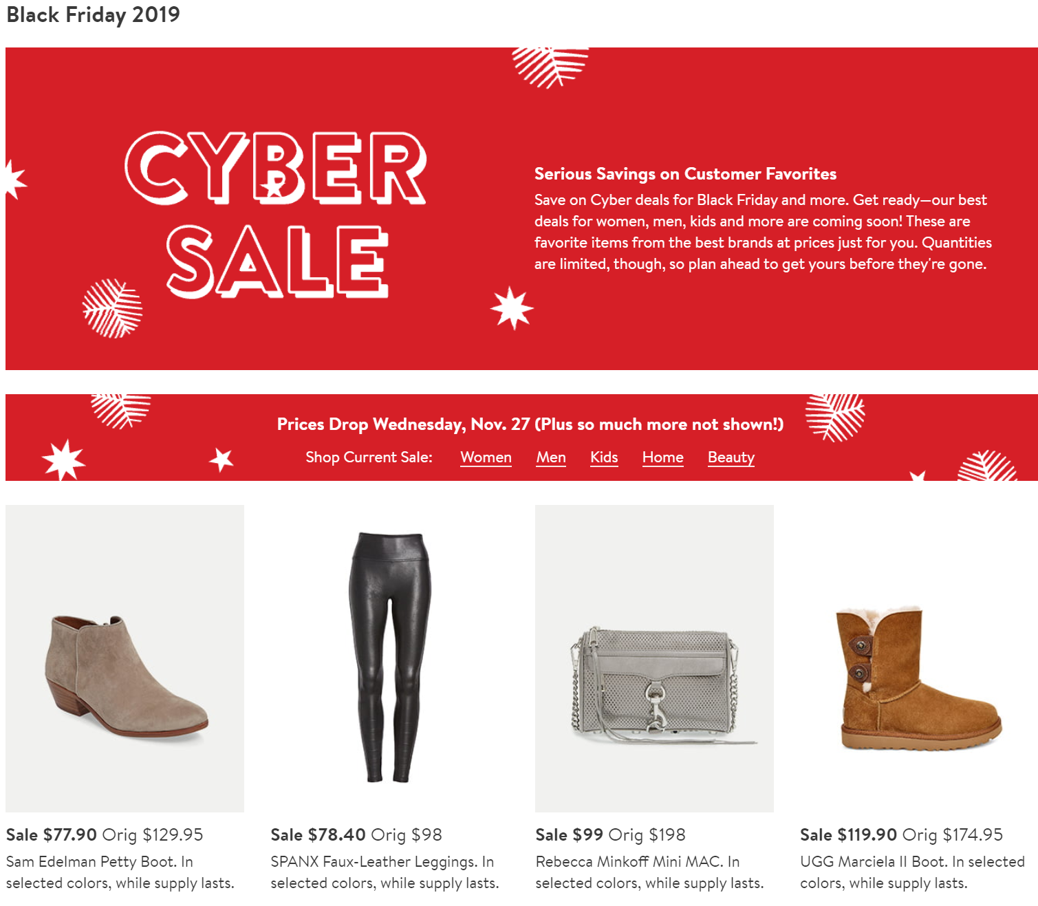 Live Black Friday 2019 Nordstrom Ad Scans Buyvia