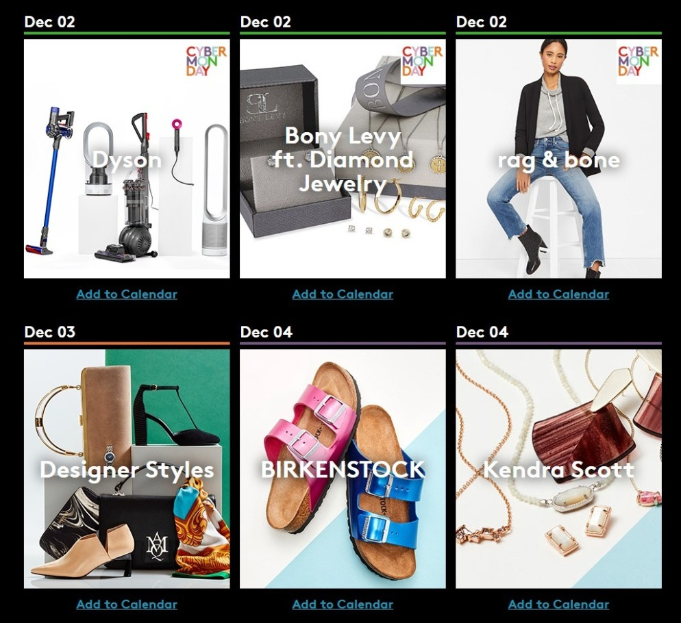 Nordstrom Rack Cyber Monday 2019 Ad Scan