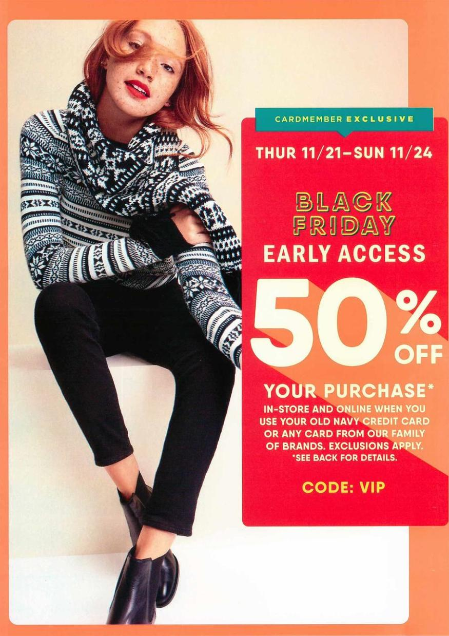 Old Navy Black Friday 2019 Ad Scans