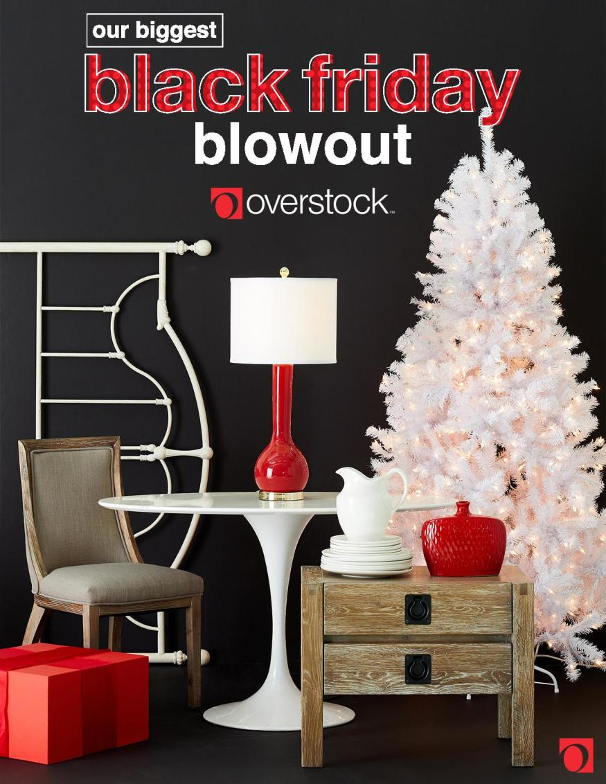 Overstock Black Friday 2019 Ad