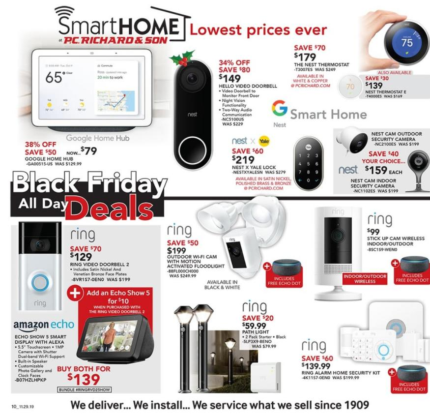 PC Richard Black Friday 2019 Ad Scans