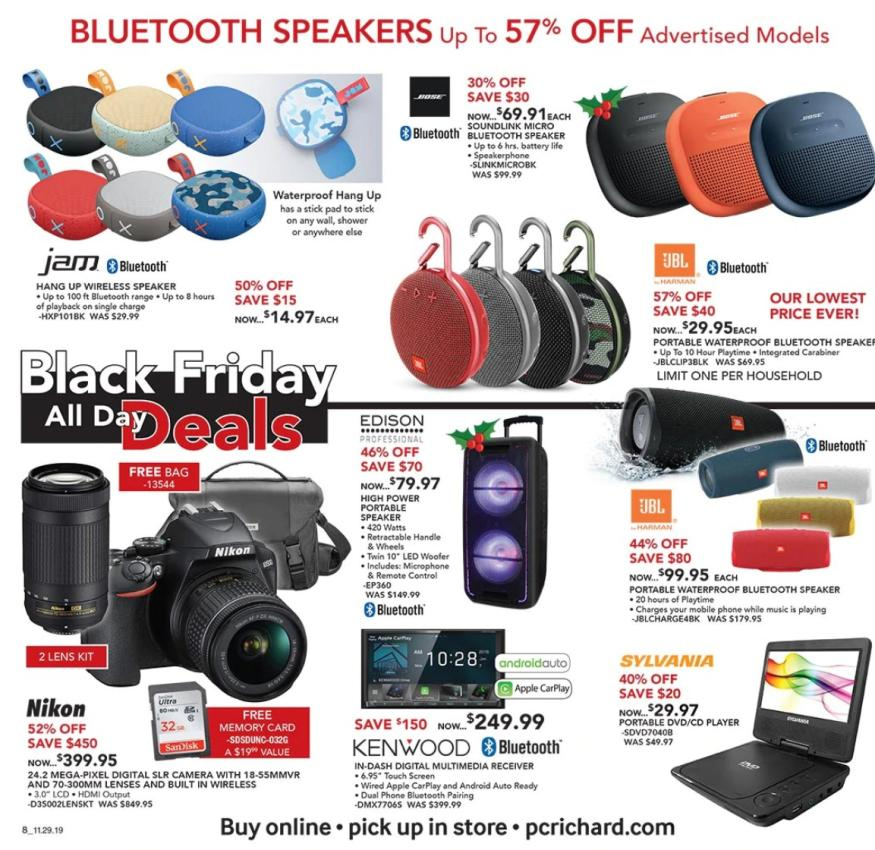 PC Richard and Son Black Friday 2019 Ad