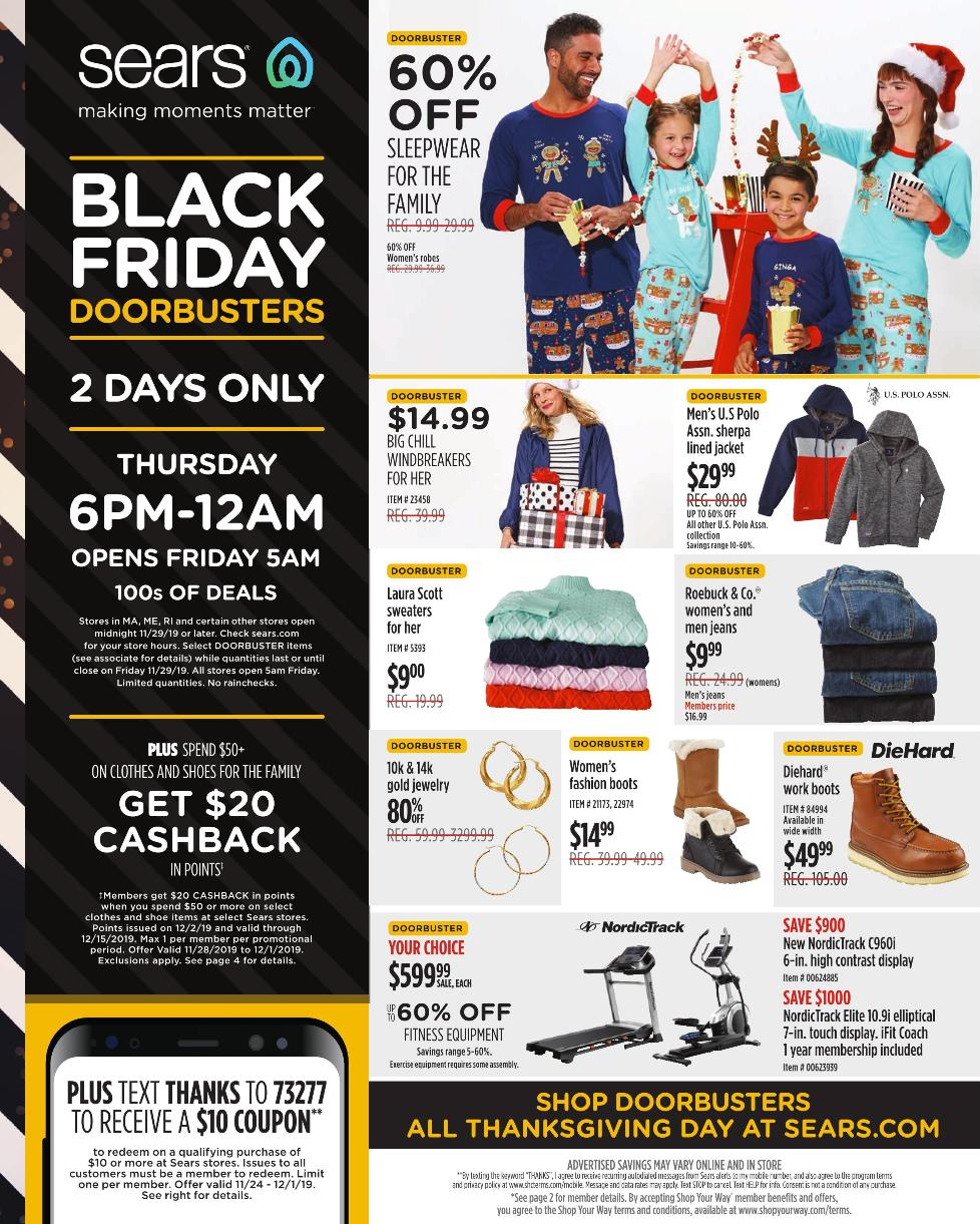 Sears Black Friday Ad 2019