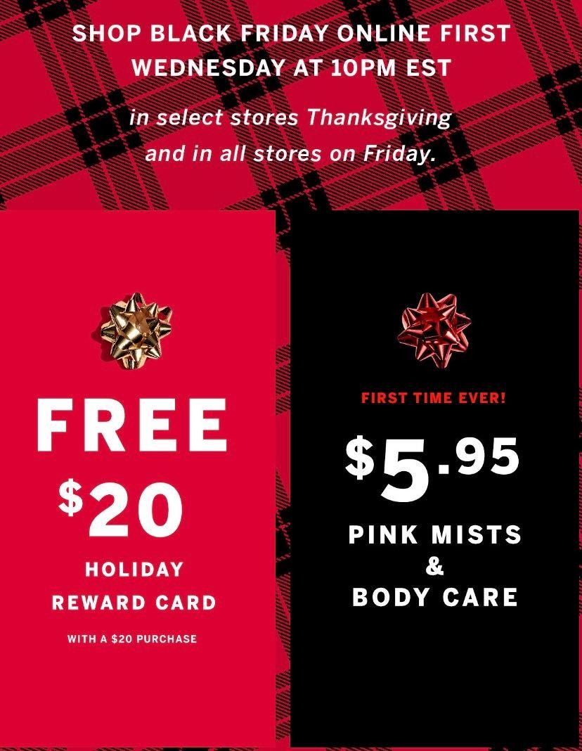 Victorias Secret Black Friday 2019 Ad