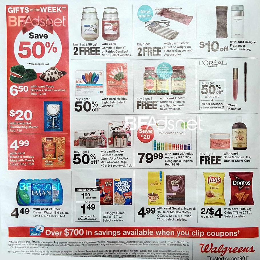 Walgreens Black Friday 2019 Ad Scans