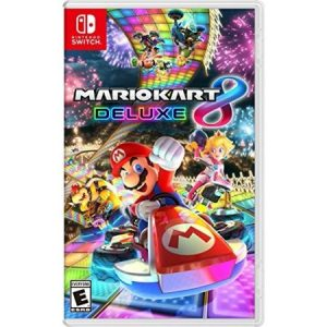 picture of Mario Kart 8 Deluxe Switch with Bonus Ematic Controller