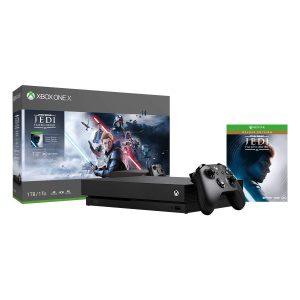 picture of Xbox One X 1TB 4K Console Star Wars Jedi Sale