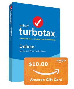picture of TurboTax 2019 Tax Preparation Software with Free $10 Amazon Card Sale