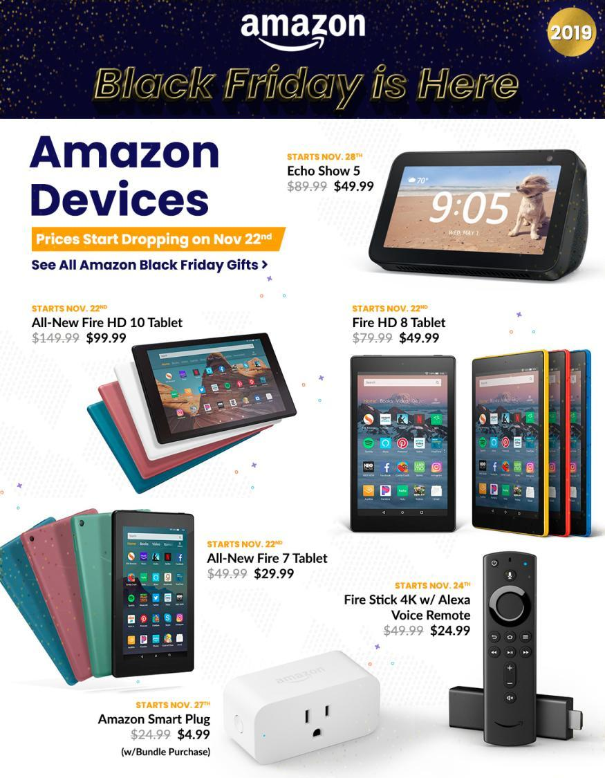 Amazon Black Friday 2019 Ad