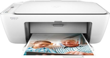 picture of HP - DeskJet 2680 Wireless All-In-One Printer with $10 of Instant Ink Included