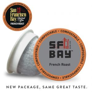 picture of SF Bay Coffee French Roast Single-Serve K-Cup, 80 Count Sale