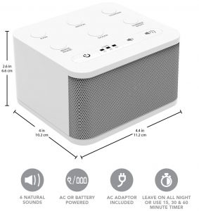 picture of Big Red Rooster 6 Sound White Noise Machine Sale