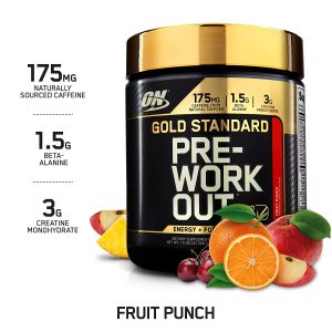 picture of Optimum Nutritional Gold Standard Pre-Workout, Fruit Punch, 30 Servings Sale