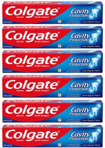 picture of Colgate Cavity Protection Toothpaste - 6 ounce (6 Count) Sale