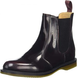 picture of Dr. Martens Women's Flora Leather Chelsea Boot Sale
