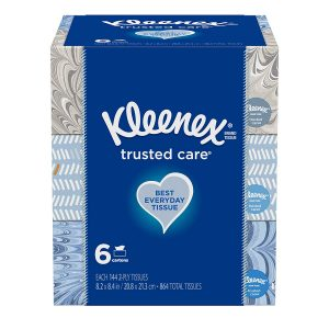 picture of Kleenex Ultra Soft Facial Tissue 12pk. 110ct. Sale