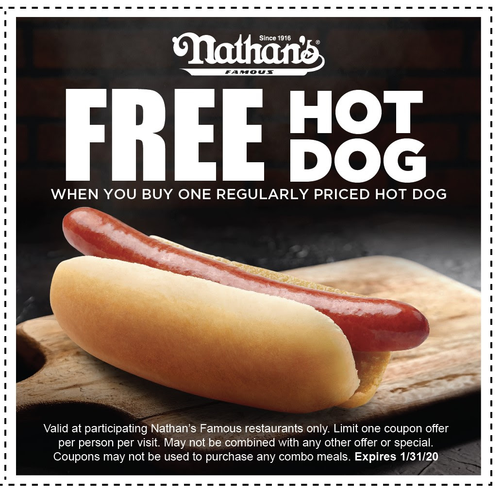 Nathan's Famous Restaurants Coupon