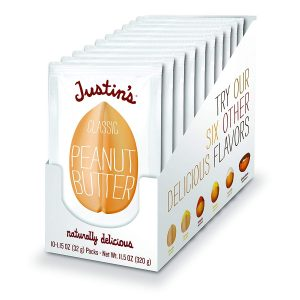picture of Justin's Classic Peanut Butter Squeeze Packs 10-pk Sale