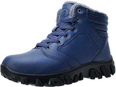 picture of Barerun Men's Fur Lined Hiking Boots Sale