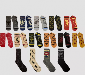 picture of Men's Game of Thrones 15 Days of Socks in a Box Socks