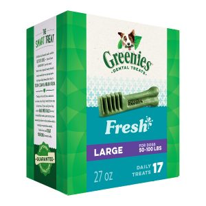 picture of Greenies Fresh Natural Dental Dog Treats, 27oz Pack Sale