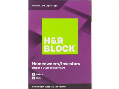 picture of H&R Block Tax Software Deluxe + State Sale