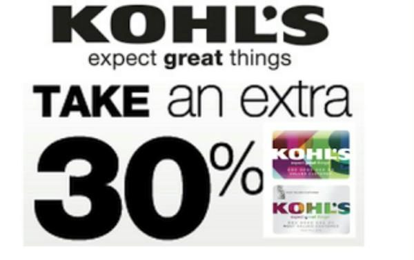 Kohl S Cardholders 30 Off Free Shipping Clothes