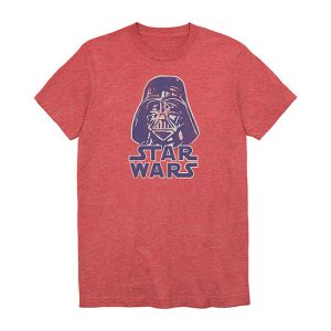 picture of Men's Crew Neck Short Sleeve Star Wars Graphic Tees Sale