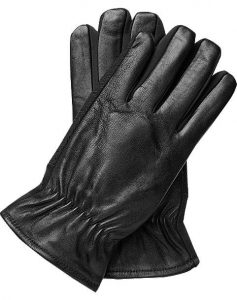 picture of Men's Wearhouse Touchscreen Technology Leather Gloves Sale