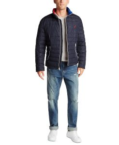 picture of Nautica Men's Tempashere Packable Insulated Jacket Sale
