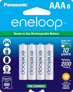 picture of Panasonic eneloop 8 Pack AAA Ni-MH Rechargeable Batteries Sale