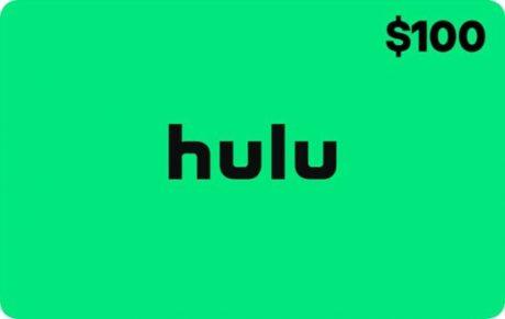 picture of $100 Hulu eGift Card + $15 Best Buy eGift Card