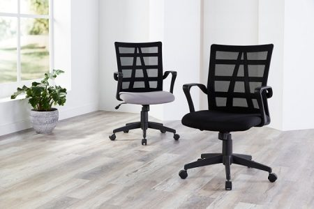 picture of Brenton Studio Jaxby Mesh/Fabric Mid-Back Task Chair Sale