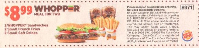 Burger King Coupon