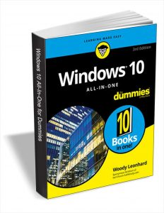 picture of Free Windows 10 for Dummies eBook