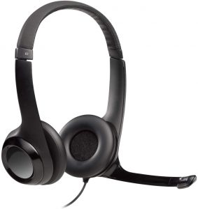 picture of Logitech USB Headset H390 with Noise Cancelling Mic Sale