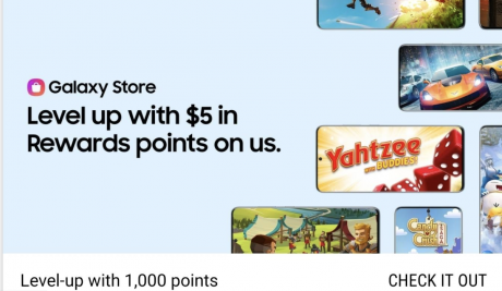 picture of Samsung Rewards: Gamer Appreciation, Get 1000 Points