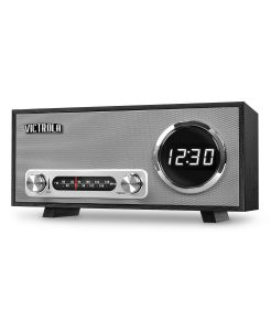 picture of Victrola Bluetooth Digital Clock Stereo with FM Radio and USB Charging
