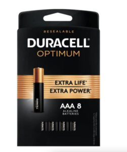 picture of Optimum AAA Alkaline Battery (8-Pack)