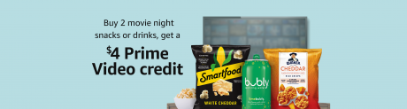 picture of Buy any 2 Snacks/Drinks Get a $4 Prime Video Credit